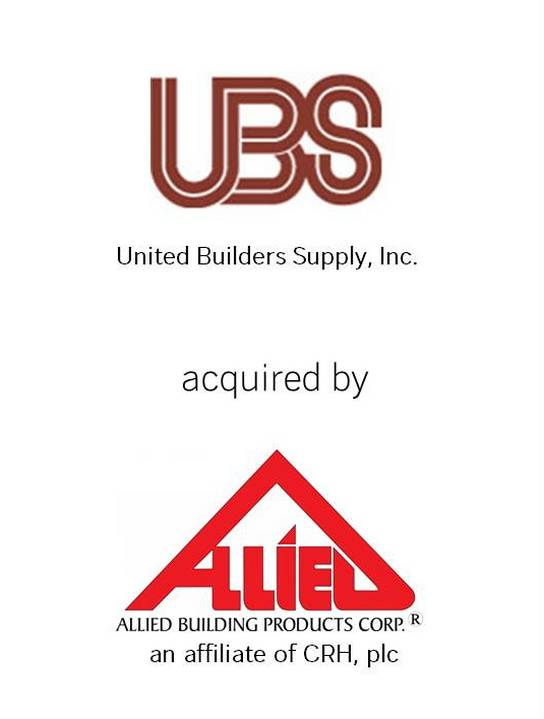 United Builders Supply Co